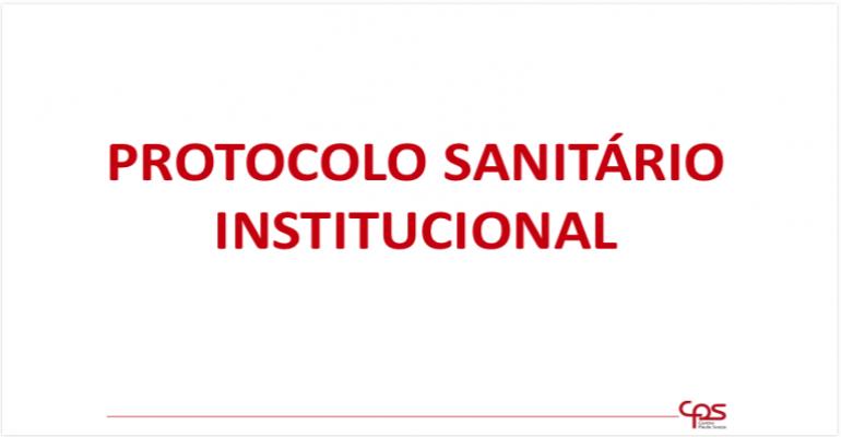 Protocolo Sanitário Institucional